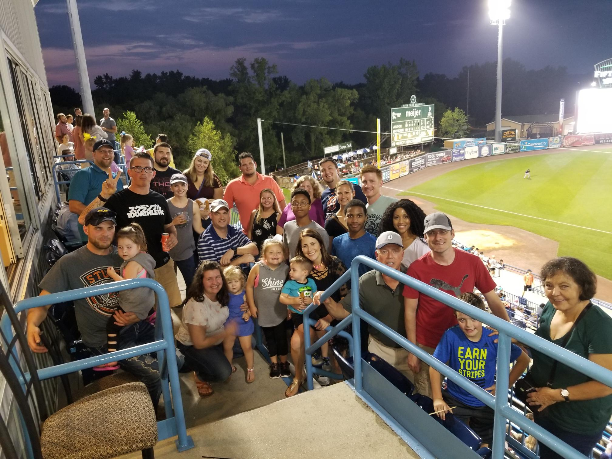 L Squared Gang at Fifth Third Ballpark