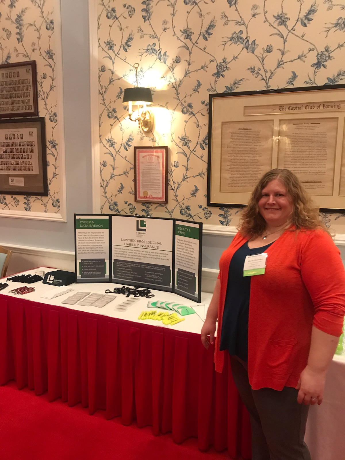 Mandy Hunsacker at June 2019 Mackinac Island Michigan Bar Conference